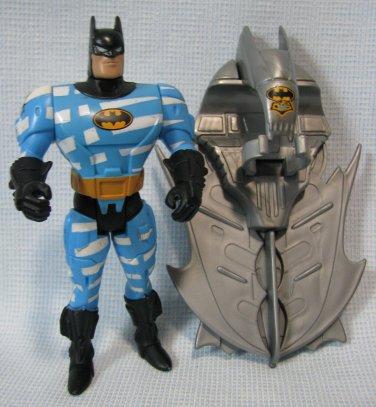 Air Assault Batman Figure Animated Crime Squad Series Kenner