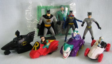 Batman McDonalds Happy Meal Lot 1990s
