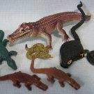 Rubber Reptiles Collection - Snakes & Crocs