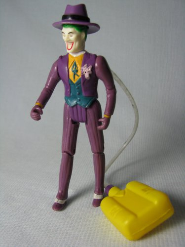 Batman Joker Squirting Orchid Toy Biz