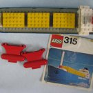 Lego Container Transport Ship Vintage Set 315
