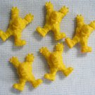 Carzillas 5 Yellow Rubber Prisoners - Illegal Wheels Kenner