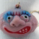 Madballs Football Freaky Squeaky Purple Keychain Knockoff