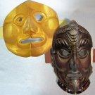 Vintage Masks Full Color Paper Punch Out Masks - Built