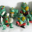 Gumball Machine Miniature Rubber Frogs