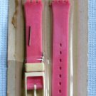 Swatch Pink Plastic Watchband Watch Band MIP