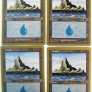 MTG Island x4 NM World Championships Magic the Gathering WOTC