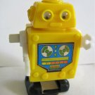 Yellow Robot Windup Toy Hong Kong