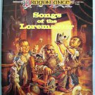 AD&D DragonLance Songs of the Loremaster Dungeons and Dragons TSR