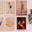 1994 Olivia DeBerardinis George Petty Collector Trading Cards