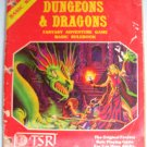 D&D Fantasy Adventure Game Basic Rulebook #1 TSR 1981
