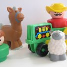 Fisher Price Chunky Farm People Animals Tractor Toys