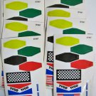 Tyco Goodyear B7987 HO Scale Flag Decals Stickers 1992