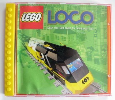 Lego Loco Train Simulation PC Game + Rare Jewel Case