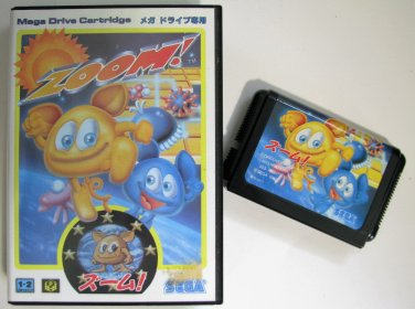 Zoom Sega MegaDrive Video Games Japan Import Genesis
