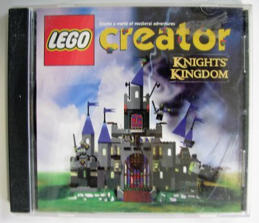 Lego Creator Knights Design and Build Your Own Kingdom Game Windows CD