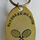 Wimbledon Tennis Keychain Keyring 1990s