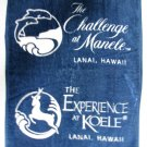 The Challenge at Manele Lanai Hawaii Koele Bay Golf Towel