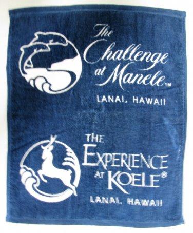 The Challenge at Manele Lanai Hawaii Koele Bay Golf Towel