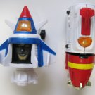 Voltron Dairugger Head Leg Parts Bootleg
