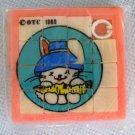 Bunny Slider Sliding Picture Puzzle 1989 MIP