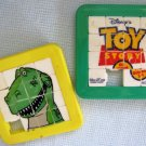 Toy Story Buzz and T Rex Slider Sliding Puzzles Disney Pixar