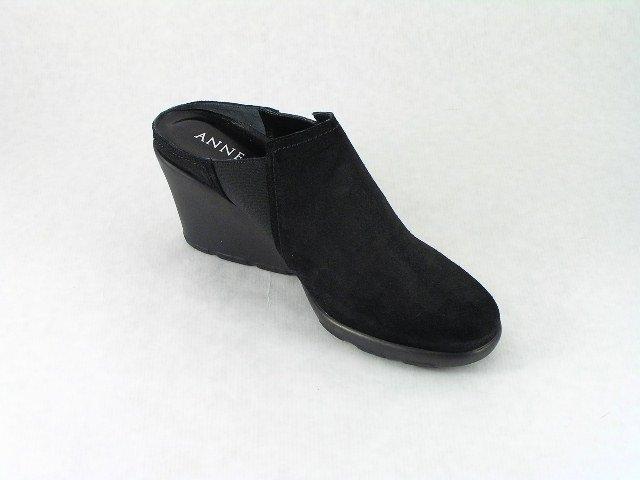 Anne Klein Cone Platform Black Shoes