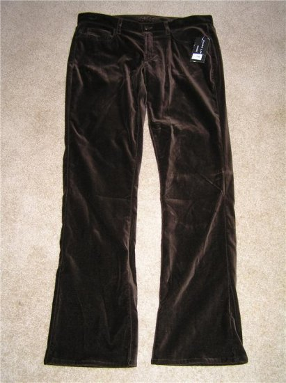 Ralph Lauren Brown Velvet Pants