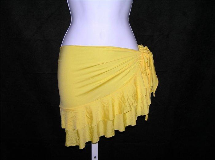 Ralph Lauren Beach Yellow Coverup (Size M)