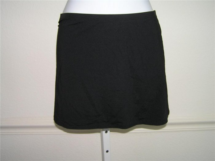 Calvin Klein Pull-on Black Beach Skirt