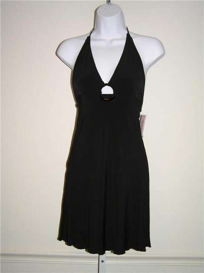 Tina C Beach Black Dress (Size 1)