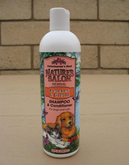 Vet's Best Peaches&Cream Shampoo & Conditioner