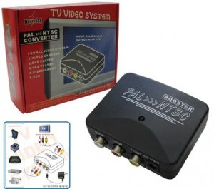 PAL to NTSC Video System Converter
