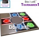 Dance Dance Revolution Tournament Metal Dance Pad for PS 1 and PS2