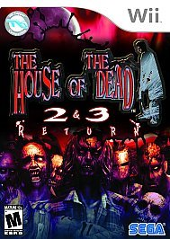 House of the Dead 2 and 3 Return for Nintendo Wii