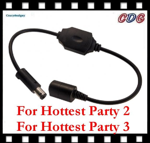 Dance Pad Adapter Converter for DDR Wii Hottest Party 3 and Hottest Party 2