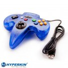"New N64 USB ""Moonlight"" Tomee Controller Compatible with PC"
