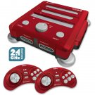 Retron 3 3in1  Video Game System for NES, SNES and Genesis games (RED)