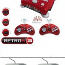 Retron 3 NES/SNES/Sega Genesis Game System+ 2 x Wired SNES Controllers