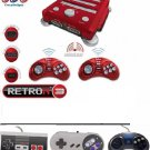 Retron 3 NES/SNES/Sega Genesis Game System+ Wired 1xNES,1xSNES,1xGenesis Control