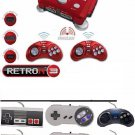 Retron 3 NES/SNES/Sega Genesis Game System+ Wired 2xNES,2xSNES,2xGenesis Control