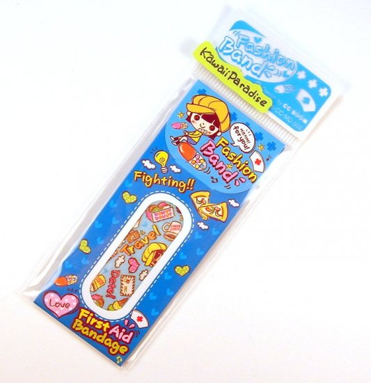 1 case kawaii FASION BAND AID bandaid travel snack donut heart 2