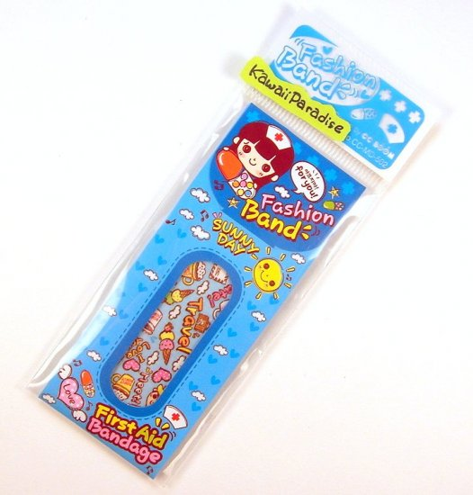 1 case kawaii FASION BAND AID bandaid travel snack donut heart 5