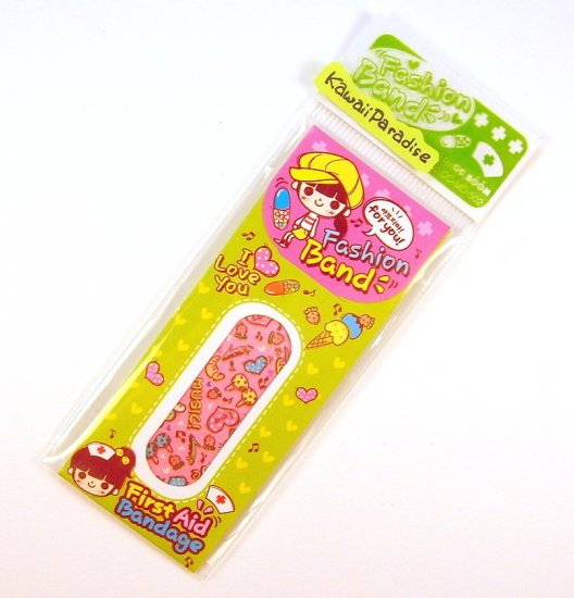 1 case kawaii FASION BAND AID bandaid bikini strawberry shoes heart 6