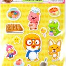 korean anime PORORO PENGUIN super cute CUSHY STICKERS new 1