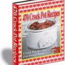 470 Crock Pot Recipes - eBook