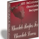 Chocolate Recipes For Chocolate Lovers - eBook