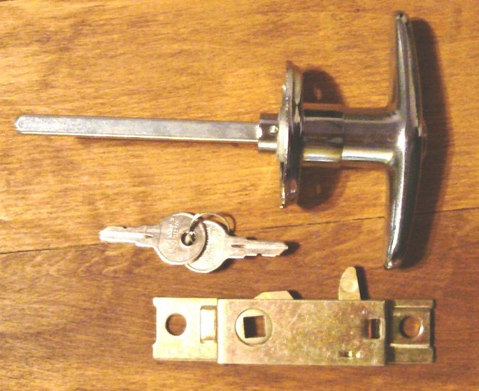 Handle Trunk and Latch Locking AC Shelby Cobra Replica