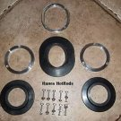Roll Bar Trim Rings / Bezels/ Grommets AC Shelby Cobra Kit Car or Street Rod