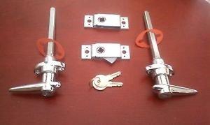 Handles Hood & Latches Locking AC Shelby Cobra Replica ACE Hot Rods Kit Car